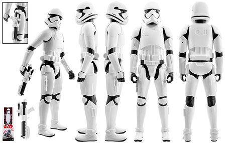 First Order Stormtrooper - Star Wars [The Last Jedi] - 12-Inch Figures