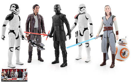 Target Exclusive 6-Pack - Star Wars [The Last Jedi] - 12-Inch Figures