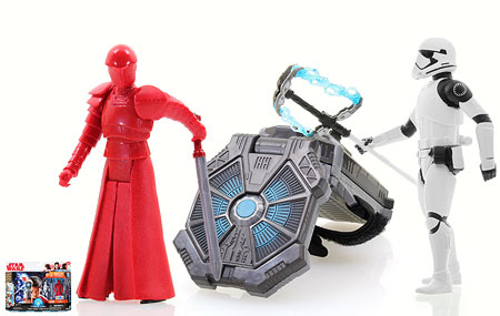 Force Link Starter Set/First Order Stormtrooper Executioner/Elite Praetorian Guard (With Whip-Staff) - Star Wars [The Last Jedi]