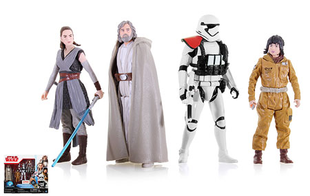 Kohl's Exclusive The Last Jedi 4-Pack - Star Wars [The Last Jedi] - Multipacks