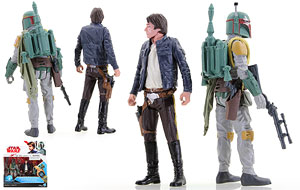 Han Solo/Boba Fett - Star Wars [The Last Jedi] - Two-Packs