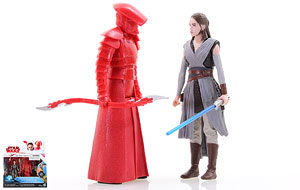 Rey (Jedi Training)/Elite Praetorian Guard - Star Wars [The Last Jedi] - Two-Packs