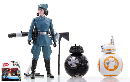 Rose (First Order Disguise)/BB-8/BB-9E - Star Wars [The Last Jedi] - Two-Packs