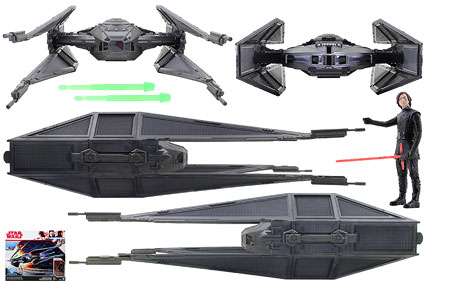 Kylo Ren's TIE Silencer - Star Wars [The Last Jedi] - Vehicles