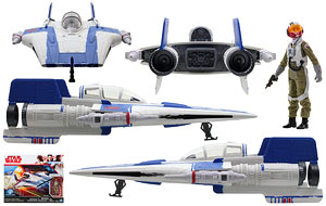 Resistance A-wing Fighter - Star Wars [The Last Jedi] - Vehicles