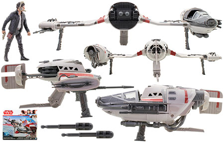 Resistance Ski Speeder - Star Wars [The Last Jedi] - Vehicles
