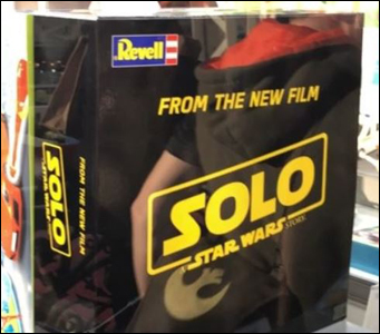 First Solo: A Star Wars Story Merchandise Revealed At UK Toy