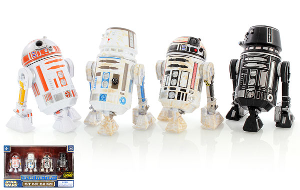 R2-F1P/R5-232/R2-S8/R5-PHT - Droid Factory
