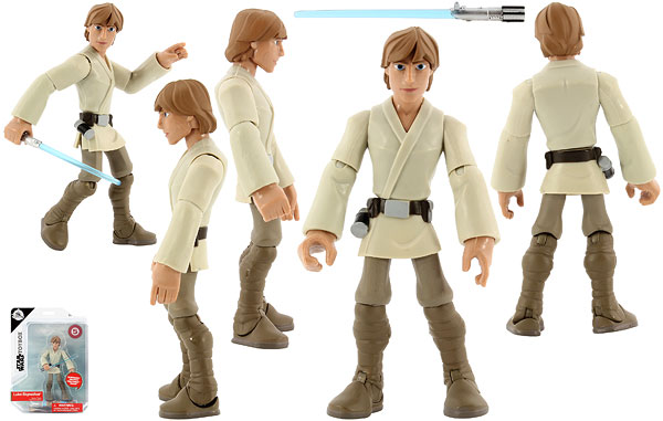 Luke Skywalker (5) - Disney Store - Star Wars Toybox