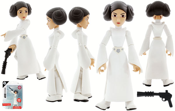 Princess Leia Organa (7) - Disney - Star Wars Toybox