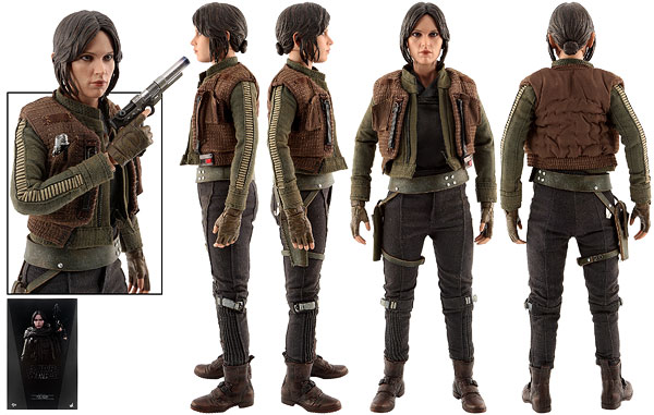 Jyn Erso (Deluxe Version) - Hot Toys - Sixth Scale Figures