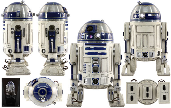 R2-D2 - Hot Toys - Sixth Scale Figures