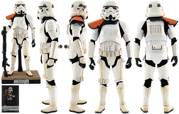 Stormtrooper (Jedha Patrol) (TK-14057) - Hot Toys - Sixth Scale Figures