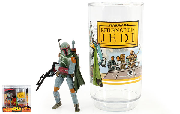 Boba Fett - Revenge of the Sith - Collectible Figure & Cup