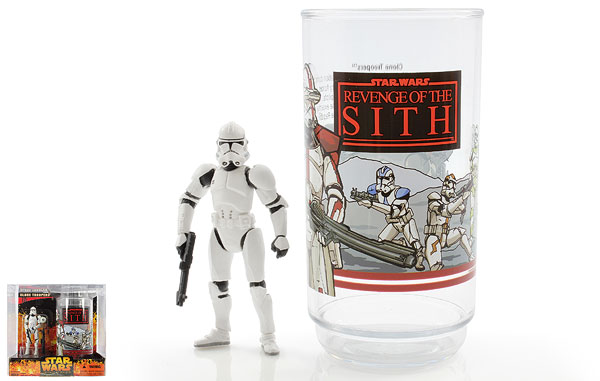 Clone Trooper - Revenge of the Sith - Collectible Figure and Cup