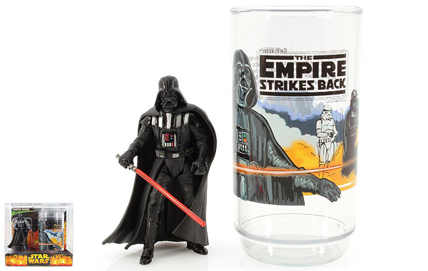 Darth Vader - Revenge of the Sith - Collectible Figure & Cup