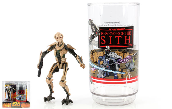 General Grievous - Revenge of the Sith - Collectible Figure and Cup
