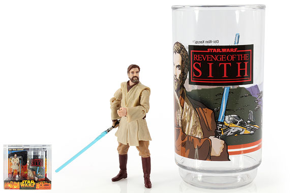 Obi-Wan Kenobi - Revenge of the Sith - Collectible Figure and Cup
