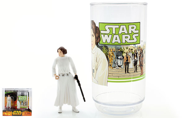 Princess Leia - Revenge of the Sith - Collectible Figure & Cup