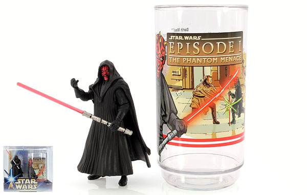 Darth Maul - Star Wars [Saga - Phase III) - Collectible Figure and Cup