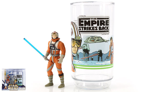 Luke Skywalker - Star Wars [Saga - Phase III] - Collectible Figure and Cup