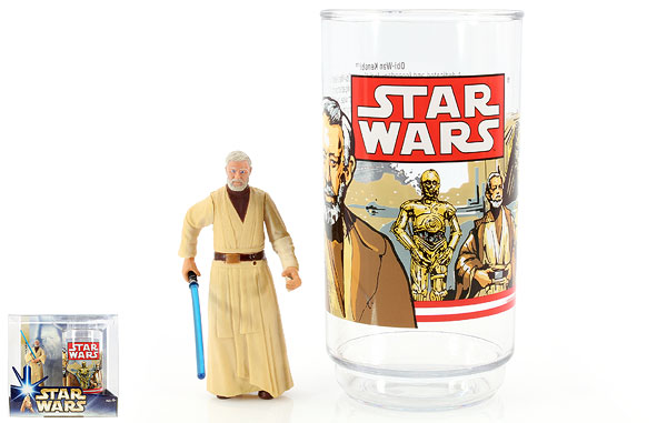 Obi-Wan Kenobi - Star Wars [Saga - Phase III] - Collectible Figure and Cup