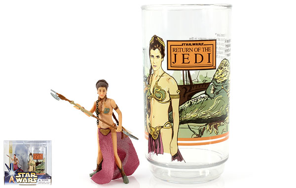 Princess Leia - Star Wars [Saga - Phase III] - Collectible Figure and Cup