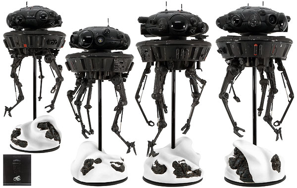 Imperial Probe Droid - Sideshow Collectibles - Sixth Scale Figures
