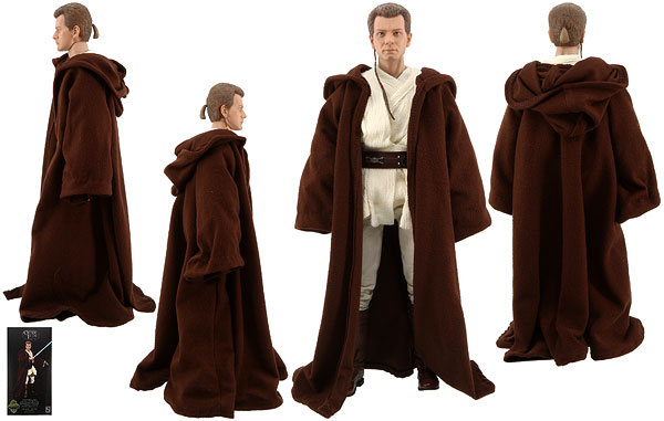 Obi-Wan Kenobi (Jedi Padawan) - Sideshow Collectibles - Sixth Scale Figures