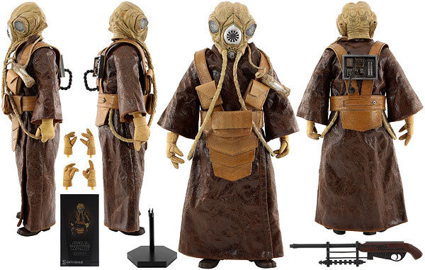 Zuckuss - Sideshow Collectibles - Sixth Scale Figures