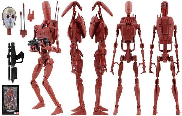 Battle Droid (Geonosis Color) - Tamashii Nations - S.H. Figuarts