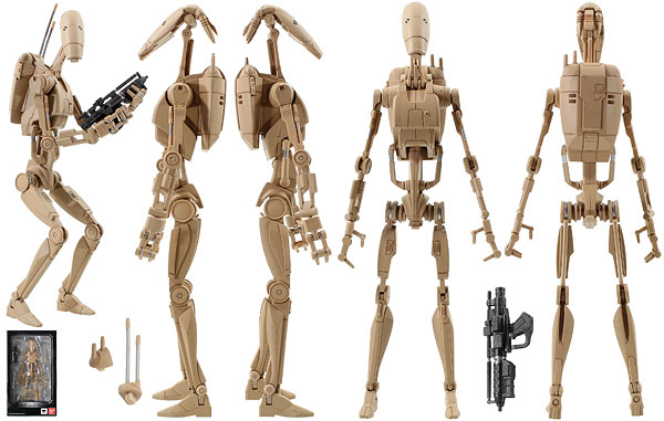 Battle Droid - Tamashii Nations - S.H. Figuarts