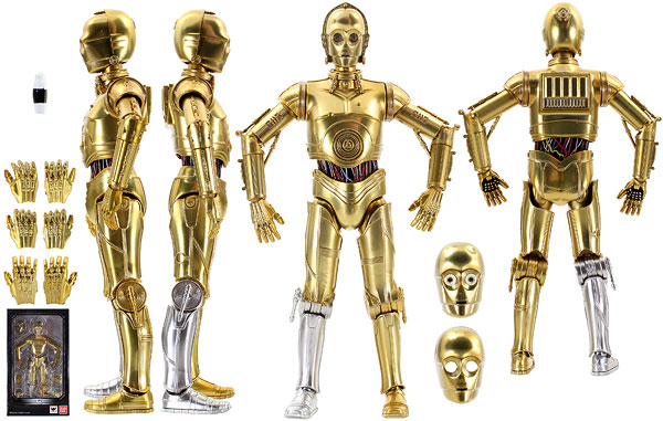 C-3PO (A New Hope) - Tamashii Nations - S.H. Figuarts