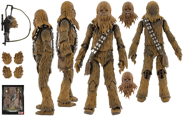 Chewbacca (A New Hope) - S.H. Figuarts