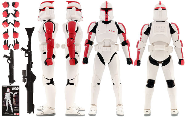 Clone Trooper (Phase I) Captain - Tamashii Nations - S.H. Figuarts