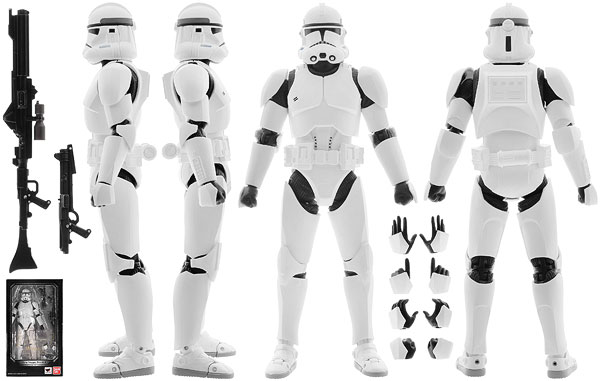Clone Trooper (Phase II) - Tamashii Nations - S.H. Figuarts
