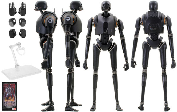 K-2SO - Tamashii Nations - S.H. Figuarts