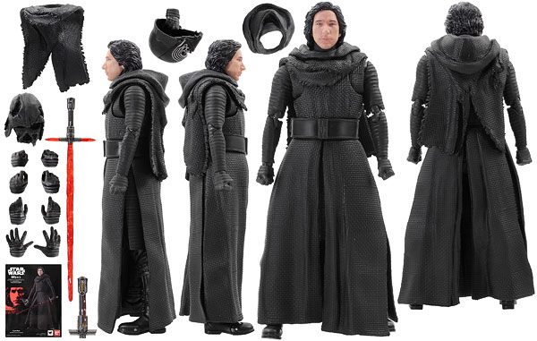 Kylo Ren (The Force Awakens) - S.H. Figuarts