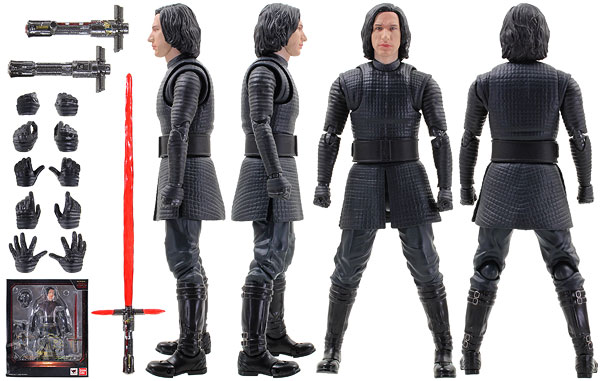 Kylo Ren (The Last Jedi) - Tamashii Nations - S.H. Figuarts