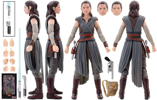 Rey (The Last Jedi) - Tamashii Nations - S.H. Figuarts