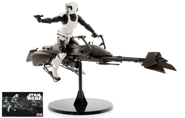 Scout Trooper & Speeder Bike - S.H. Figuarts