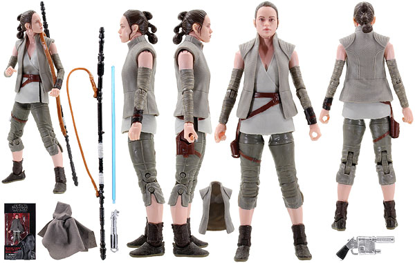 Rey (Island Journey) (58) - The Black Series - 6-Inch Figures