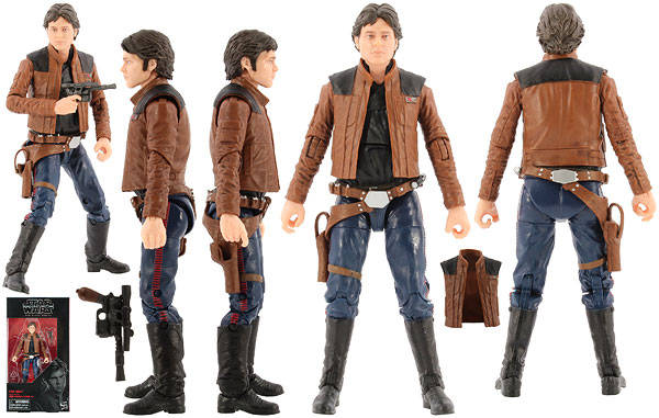 Han Solo (62) - The Black Series [Phase III] - 6-Inch Figures