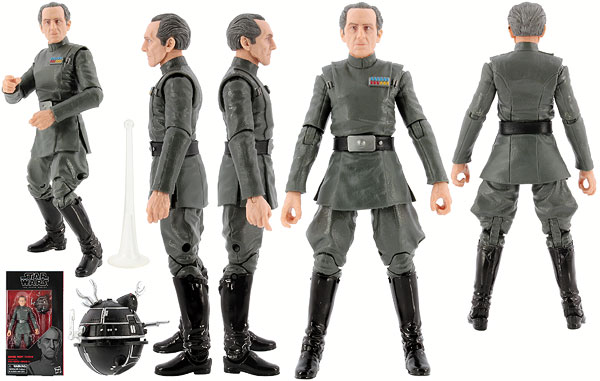 Grand Moff Tarkin - The Black Series [Phase III] - 6-Inch Figures