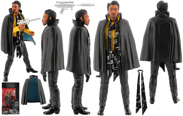 Lando Calrissian (65) - The Black Series [Phase III] - 6-Inch Figures
