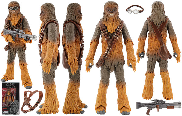 Chewbacca - The Black Series [Phase III] - Six Inch Exclusives