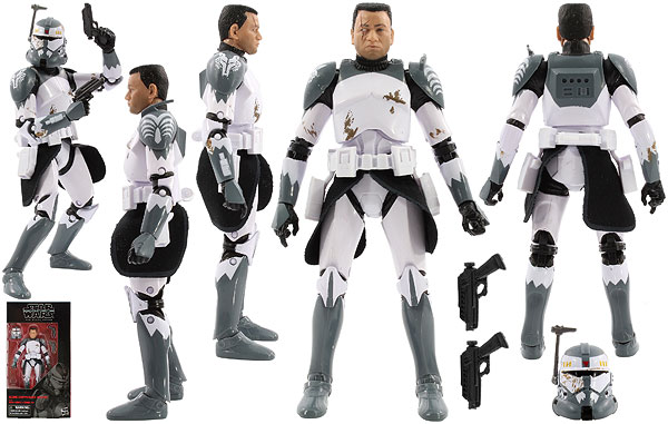 Clone Commander Wolffe - The Black Series [Phase III] - Six Inch Exclusives