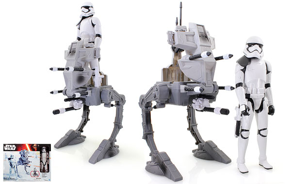 Assault Walker/Riot Control Stormtrooper Sergeant - The Force Awakens - 12-Inch Figures