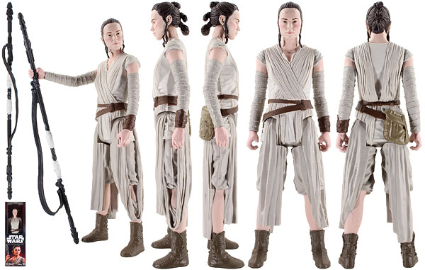 Rey (Jakku) - The Force Awakens - 12-Inch Figures
