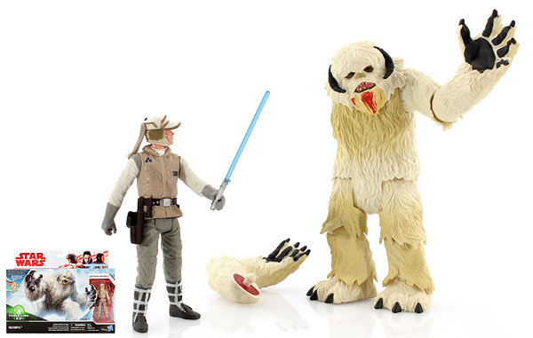 Wampa/Luke Skywalker (Hoth) - Star Wars [The Last Jedi] - Deluxe Figures